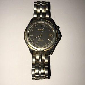 Seiko kinetic Titanium watch (works sometimes)